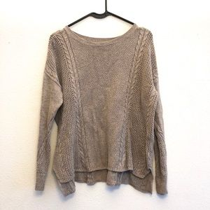AE knit crew neck loose fit sweater